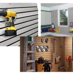 Slatwall Garage Organization Systems
