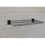 24 inch x 12 inch Big Wire Shelf for Slatwall Storage