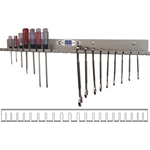 Aluminum Wrench -  Screwdriver Wall Organizer Tool Storage Rack