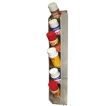 6 can -  Vertical Aerosol Spray Can Organizer Rack