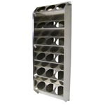18 can - Aluminum Vertical Aerosol Spray Can Organizer Rack
