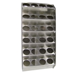 24 can - Aluminum Vertical Aerosol Spray Can Organizer Rack