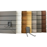 8ft storeWALL Heavy Duty Slatwall  Wall Storage Organization Panels
