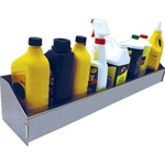 Aluminum Aerosol Spray Can & Bottle Organizer Rack