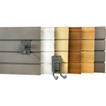 4ft storeWALL Standard Duty Slatwall  Wall Storage Organization Panels