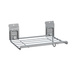12 in. Shelf w/ Cord Holder for storeWALL Slatwall  Storage