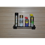 16 in. x 5in Wide Wire Shelf for Slatwall