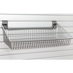 Extra Large Wire Basket for storeWALL Slatwall Storage