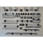 Deluxe Slatwall Hook - Shelf Accessory 46 piece Kit