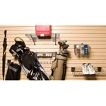 Golf Sports Hook Basket Accessory Kit for Slatwall Organization