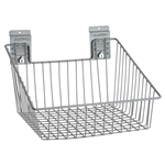 Large Angle Wire Basket for storeWALL Slatwall Storage