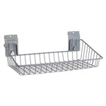 Small Angle Wire Basket for storeWALL Slatwall Storage