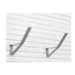 10 inch Angle Bracket for storeWALL Slatwall  Storage Wall Organizers