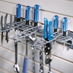 Hand Tool Rack for Slatwall Wall Organizers