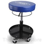 Ford Round Rolling Stool - Mechanic Seat - Shop Stool