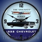 1955 Chevrolet One Fifty LED Backlit Clock