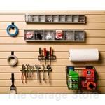 Workbench Accessory and Organization 12 piece Kit for Slatwall