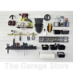 Workbench Workcenter Organization 15 piece Kit for Slatwall